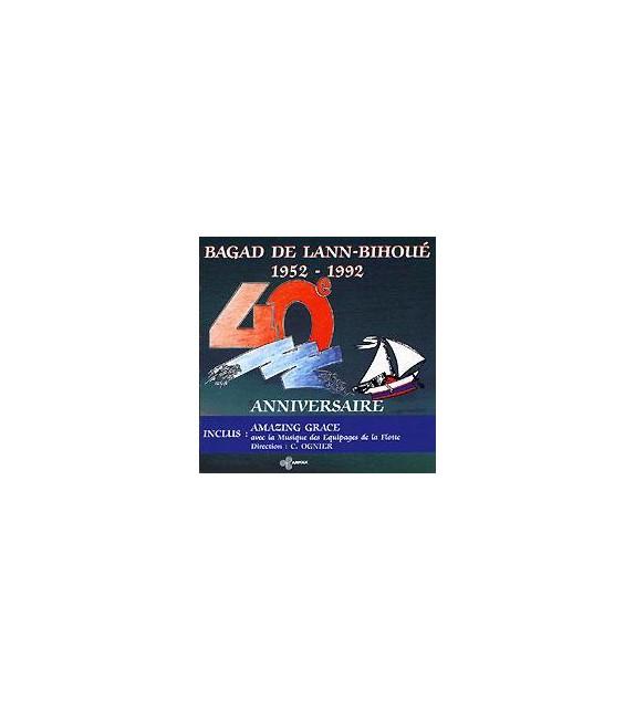 CD BAGAD DE LANN BIHOUE - 40EME ANNIVERSAIRE 1952-1992