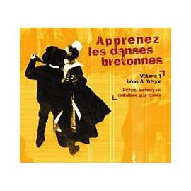CD APPRENEZ LES DANSES BRETONNES. VOL 1 Léon - Trégor