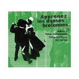 CD APPRENEZ LES DANSES BRETONNES. VOL 4 Vannetais - Gallo
