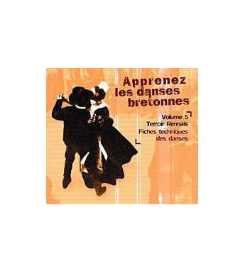 CD APPRENEZ LES DANSES BRETONNES. VOL 5 Pays rennais