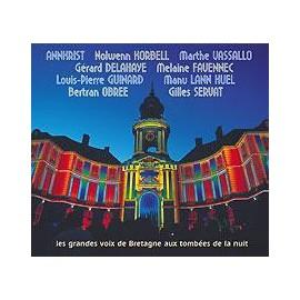 CD GRANDES VOIX DE BRETAGNE AUX TOMBEES DE LA NUIT