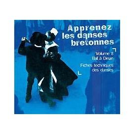 CD APPRENEZ LES DANS BRETONNES VOL 8 Pays de Dinan