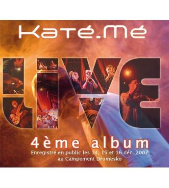 CD KATE-ME - EN CONCERT LIVE
