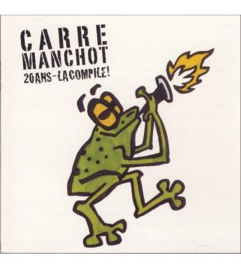 CD CARRE MANCHOT - 20 ANS, LA COMPILE