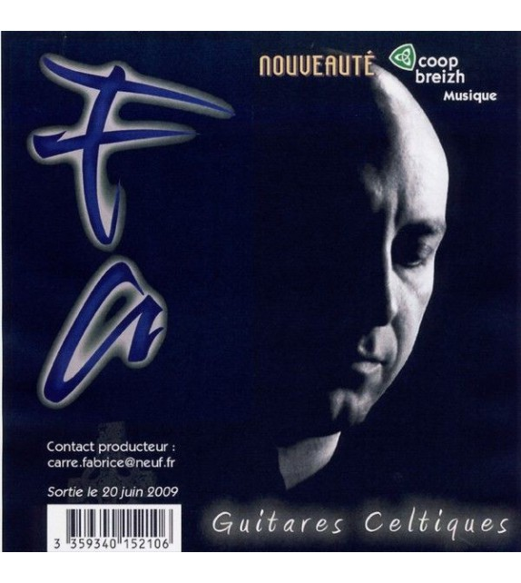 CD FABRICE CARRE - Guitares Celtiques