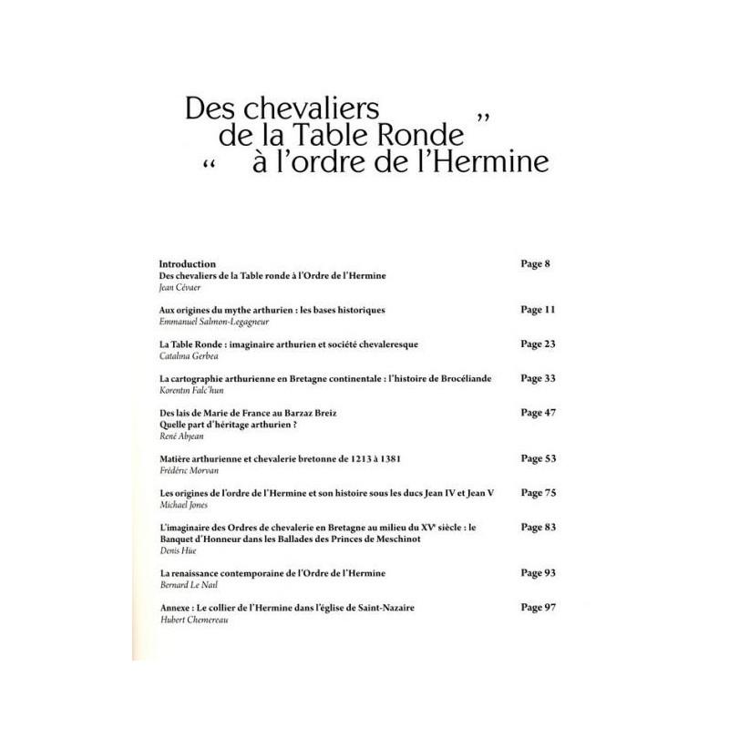 Des chevaliers de la table ronde l 39 ordre de l 39 hermine - Recherche sur les chevaliers de la table ronde ...
