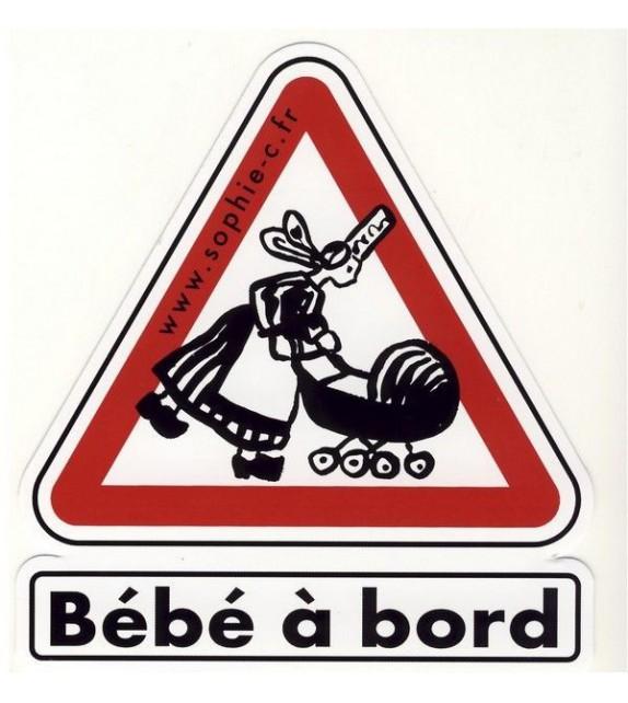 AUTOCOLLANT BÉBÉ À BORD (6010398)