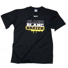 TEE SHIRT BLACK BLANC BREIZH (6020055)