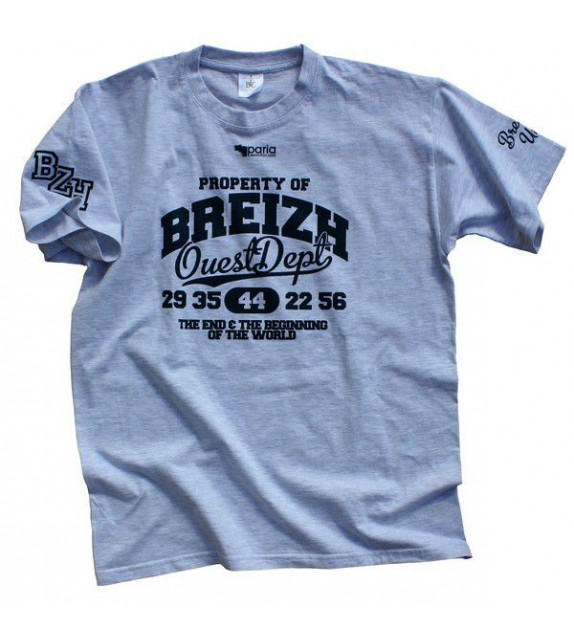 TEE SHIRT CAMPUS - PROPERTY OF BREIZH