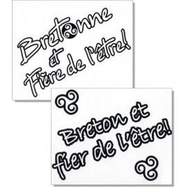AUTOCOLLANT BRETONNE-BRETON ET FIÈRE-FIER DE L'ÊTRE (6020217)