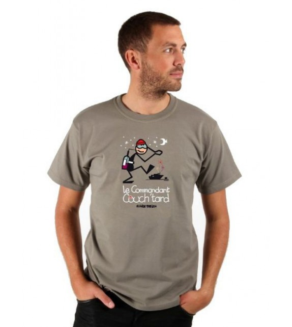 TEE SHIRT COMMANDANT COUCH'TARD (6020346)