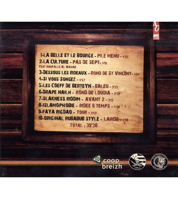 CD IMG - AVEC LA LANGUE