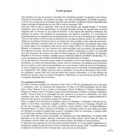 L'OCCUPATION ALLEMANDE DANS LES 162 COMMUNES DU NORD FINISTERE