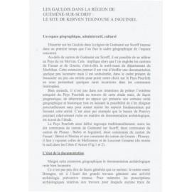 LES GAULOIS DANS LA RÉGION DE GUÉMÉNÉ-SUR-SCORFF