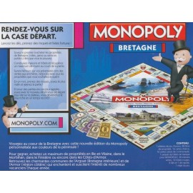 MONOPOLY BRETAGNE version 2014 (690155)