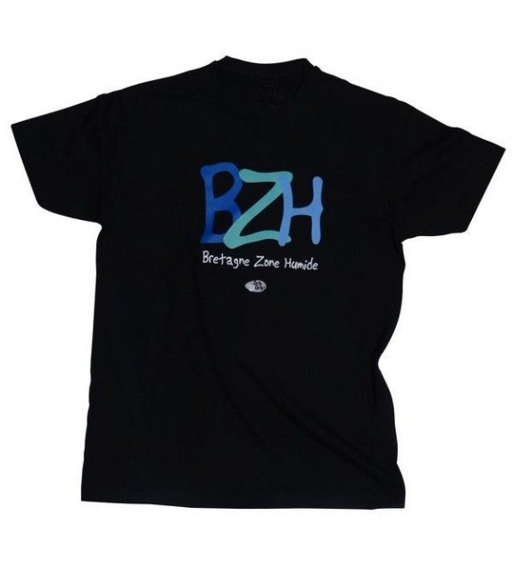 TEE SHIRT BZH BRETAGNE ZONE HUMIDE (6020713)