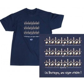 TEE-SHIRT BRETAGNE RÉGION STABLE (6020731)