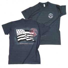 TEE-SHIRT DÉFINITIVEMENT BRETON (6020739) Gris