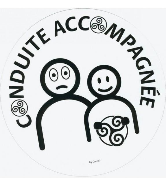AUTOCOLLANT CONDUITE ACCOMPAGNÉE (6010857)