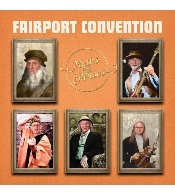 CD FAIRPORT CONVENTION - MYTHS AND HEROES