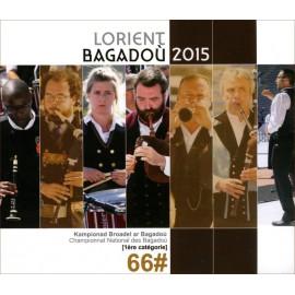 CD DVD CHAMPIONNAT DES BAGADOU LORIENT 2015 - 3 cds - 1 dvd