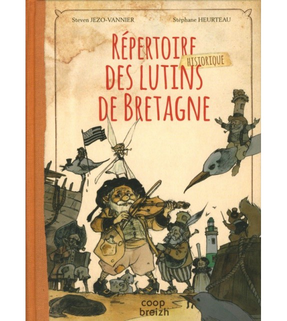 RÉPERTOIRE DES LUTINS DE BRETAGNE