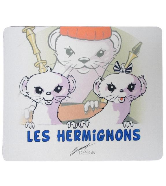 TAPIS DE SOURIS HERMIGNONS