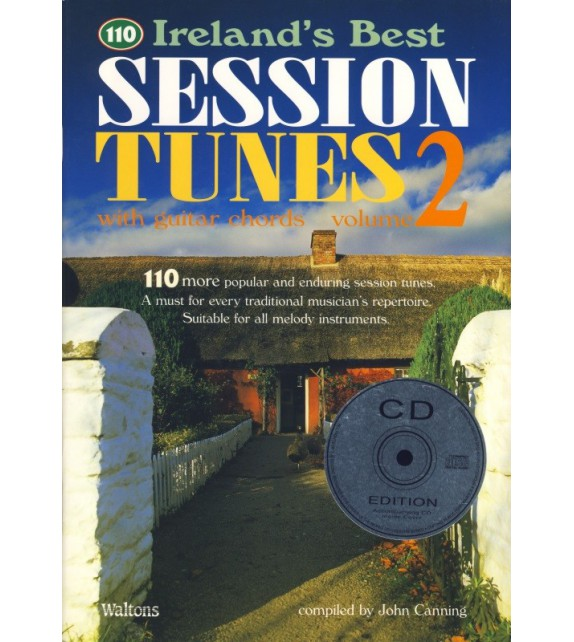 110 BEST IRISH SESSION TUNES 2 - avec CD