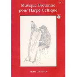 MUSIQUE BRETONNE POUR HARPE CELTIQUE 2 + CD