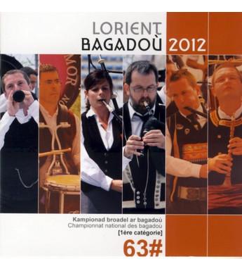 CD DVD CHAMPIONNAT DES BAGADOU LORIENT 2012