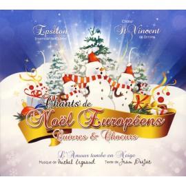 CD EPSILON ET CHŒUR DE SAINT-VINCENT - CHANTS DE NOËL EUROPÉENS