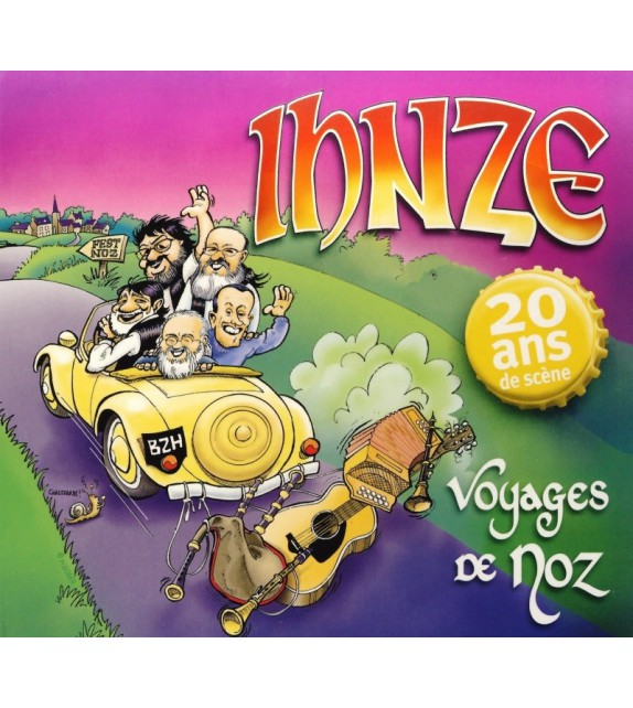 CD IHNZE - VOYAGES DE NOZ