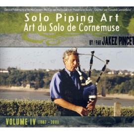 CD COFFRET JAKEZ PINCET - SOLO PIPING ART volume 4