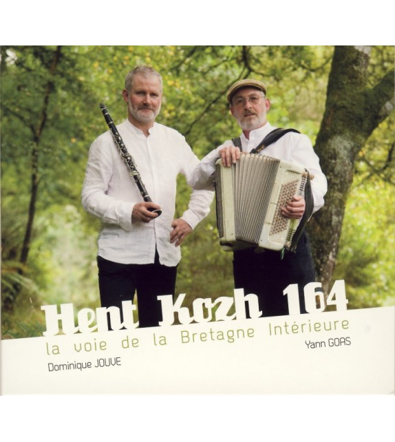 CD DOMINIQUE JOUVE, YANN GOAZ - HENT KOZH 164