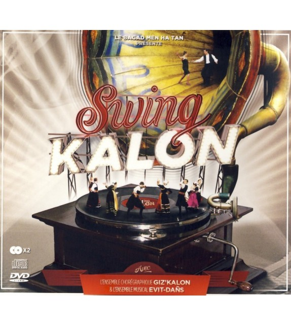 DVD CD MEN HA TAN et GIZ'KALON - SWING KALON EVIT DANS