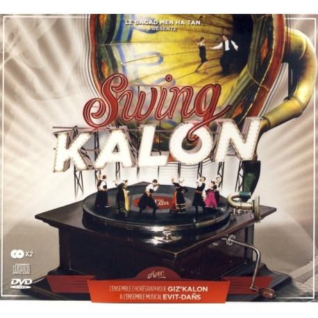 DVD CD MEN HA TAN et GIZ'KALON - SWING KALON EVIT DANS
