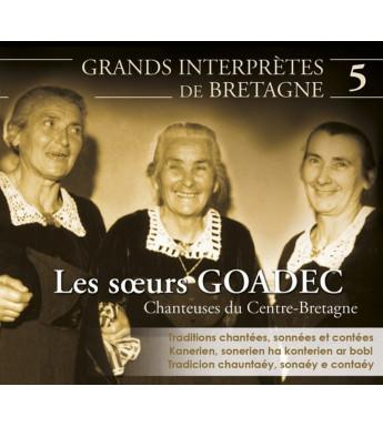 CD SOEURS GOADEC - CHANTEUSES DU CENTRE BRETAGNE