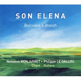 CD NOLWENN MONJARRET ET PHILIPPE LE GALLOU - SON ELENA