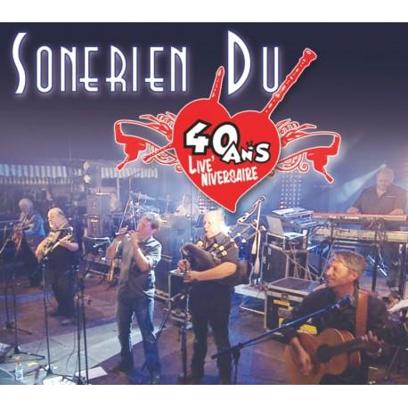 CD DVD SONERIEN DU - 40 ANS LIVE'NIVERSAIRE