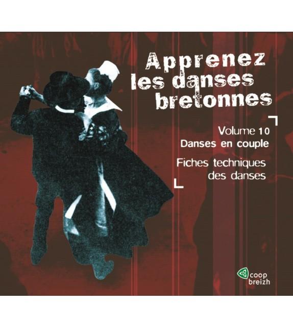 CD APPRENEZ LES DANSES BRETONNES VOL. 10 Les danses en couple