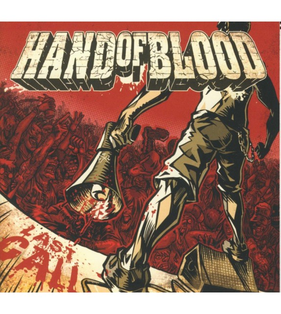 CD HAND OF BLOOD - LAST CALL