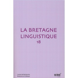 LA BRETAGNE LINGUISTIQUE - Volume 18