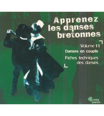 CD APPRENEZ LES DANSES BRETONNES - VOL 11 Les danses en couple