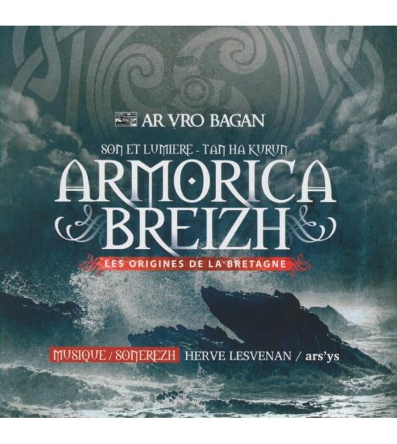 CD ARMORICA BREIZH - LES ORIGINES DE LA BRETAGNE