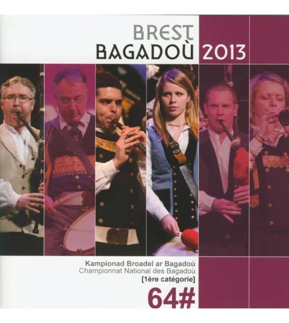 CD - DVD CHAMPIONNAT DES BAGADOÙ - BREST BAGADOÙ 2013