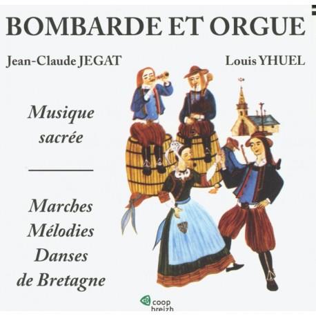 CD JEGAT ET YHUEL - BOMBARDE ET ORGUE