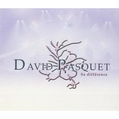 CD DAVID PASQUET - SA DIFFERENCE