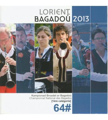 CD DVD CHAMPIONNAT DES BAGADOU LORIENT 2013