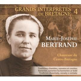 CD MARIE-JOSEPHE BERTRAND CHANTEUSE DU CENTRE-BRETAGNE