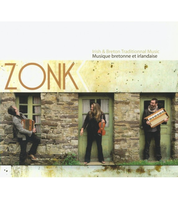 CD ZONK - MUSIQUE BRETONNE ET IRLANDAISE